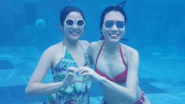Hè vừa đến, netizen đã được thỏa mắt ngắm Kỳ Duyên, Quỳnh Anh Shyn... mặc đồ bơi - Ảnh 5.