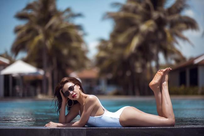 Hè vừa đến, netizen đã được thỏa mắt ngắm Kỳ Duyên, Quỳnh Anh Shyn... mặc đồ bơi - Ảnh 12.