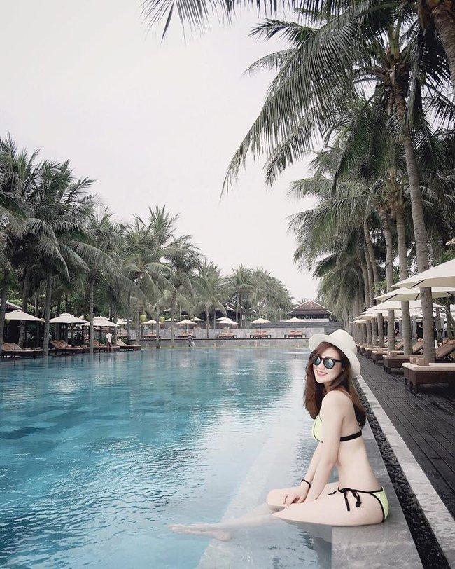 Hè vừa đến, netizen đã được thỏa mắt ngắm Kỳ Duyên, Quỳnh Anh Shyn... mặc đồ bơi - Ảnh 11.