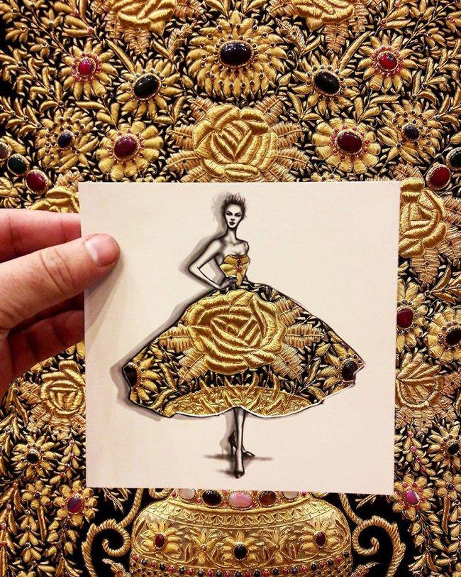 Nhà thiết kế thời trang và bộ sưu tập được may từ mây trời - Ảnh 5.
