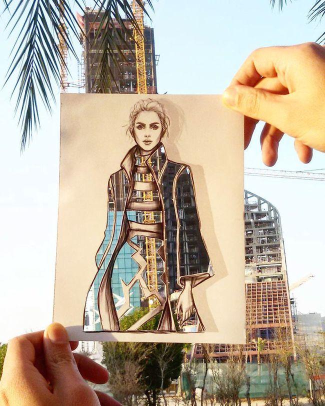 Nhà thiết kế thời trang và bộ sưu tập được may từ mây trời - Ảnh 3.