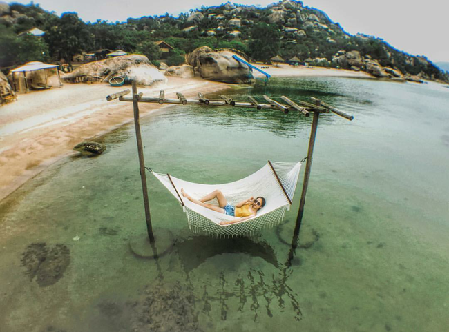 Cần chi đi đâu xa, ở Việt Nam cũng có những vùng biển đẹp không thua gì Maldives! - Ảnh 8.