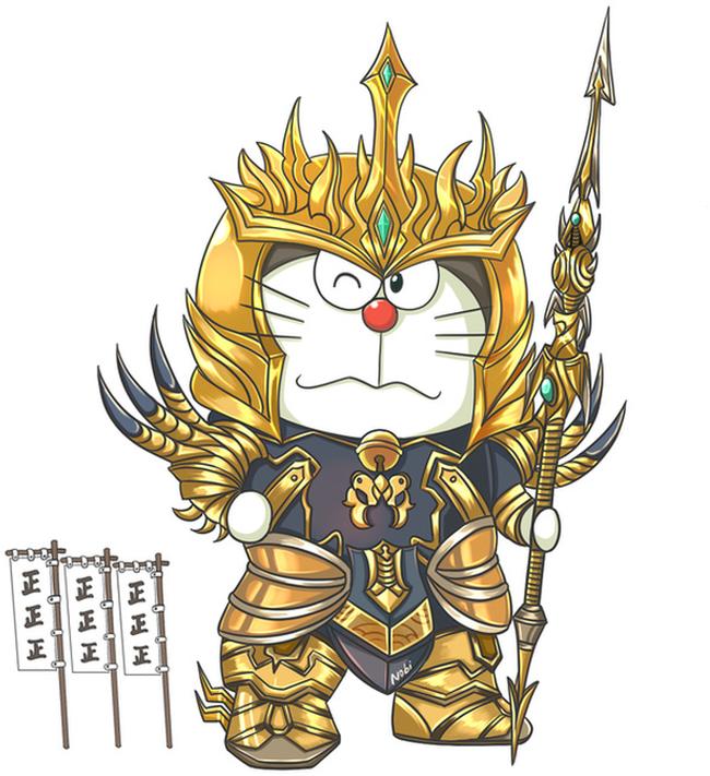 Khi mèo ú Doraemon cosplay các anh hùng Liên Minh Huyền Thoại - Ảnh 8.