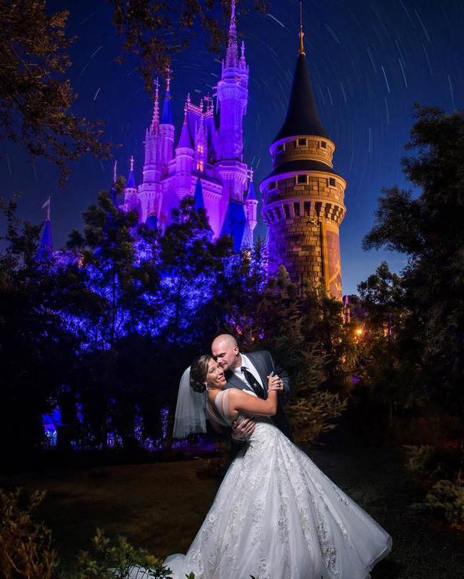 Hóa thân thành công chúa Disney trong ngày cưới, còn gì tuyệt diệu hơn chứ? - Ảnh 1.
