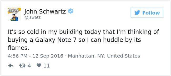 Ngàn lẻ một phản ứng éo le của cư dân mạng về Note7 khiến Samsung cũng phải méo mồm - Ảnh 2.