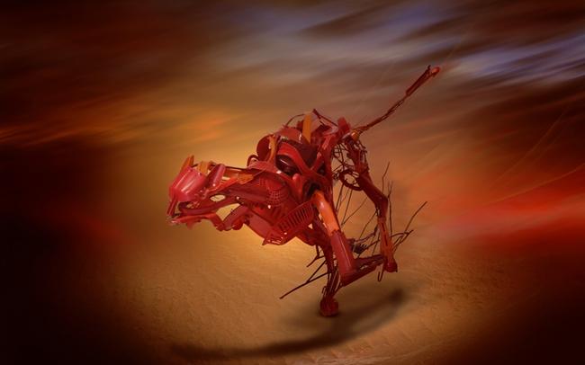Từ nhựa phế liệu, nghệ sĩ này đã dựng nên mô hình động vật vô cùng tinh xảo - Ảnh 3.