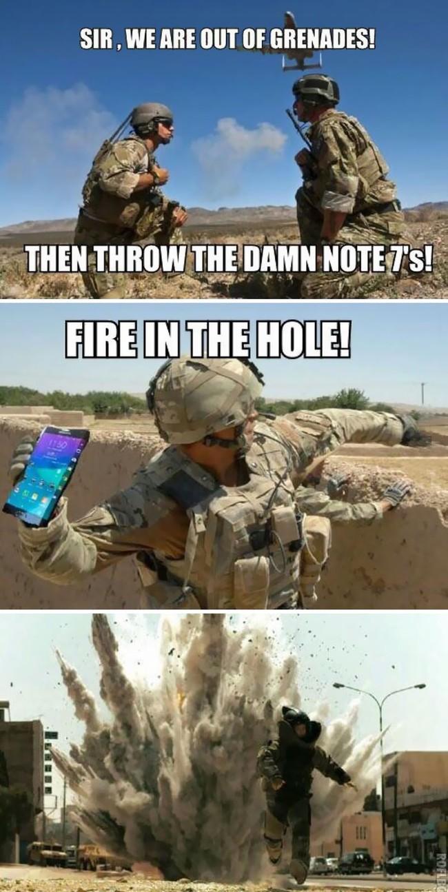 Ngàn lẻ một phản ứng éo le của cư dân mạng về Note7 khiến Samsung cũng phải méo mồm - Ảnh 6.