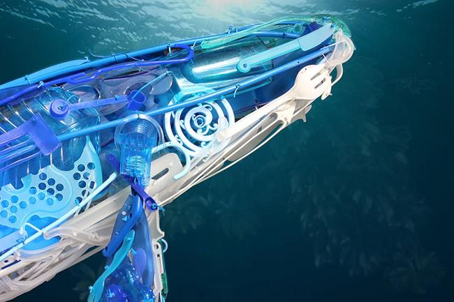 Từ nhựa phế liệu, nghệ sĩ này đã dựng nên mô hình động vật vô cùng tinh xảo - Ảnh 6.