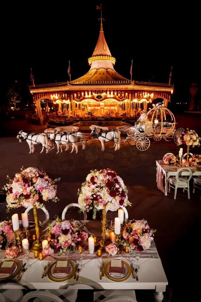 Hóa thân thành công chúa Disney trong ngày cưới, còn gì tuyệt diệu hơn chứ? - Ảnh 7.