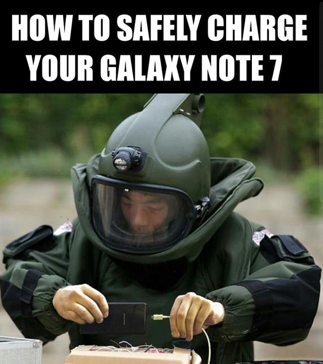 Ngàn lẻ một phản ứng éo le của cư dân mạng về Note7 khiến Samsung cũng phải méo mồm - Ảnh 12.