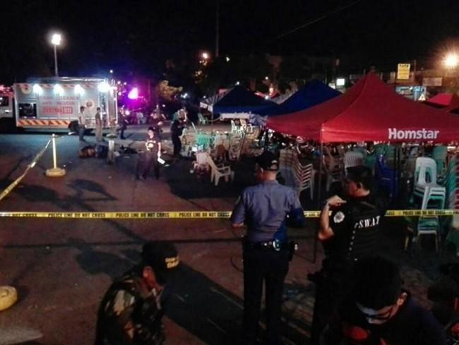 Nổ chợ đêm ở Philippines, ít nhất 10 người chết - Ảnh 1.