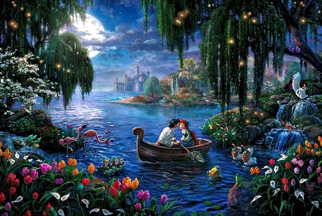 Không thể tin nồi còn có họa sĩ vẽ tranh Disney đẹp hơn cả bản gốc - Ảnh 13.