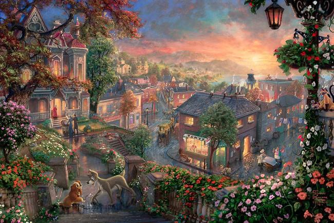 Không thể tin nồi còn có họa sĩ vẽ tranh Disney đẹp hơn cả bản gốc - Ảnh 4.
