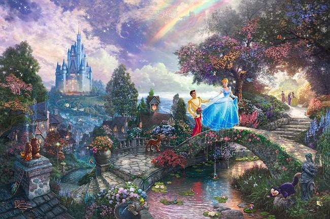 Không thể tin nồi còn có họa sĩ vẽ tranh Disney đẹp hơn cả bản gốc - Ảnh 14.