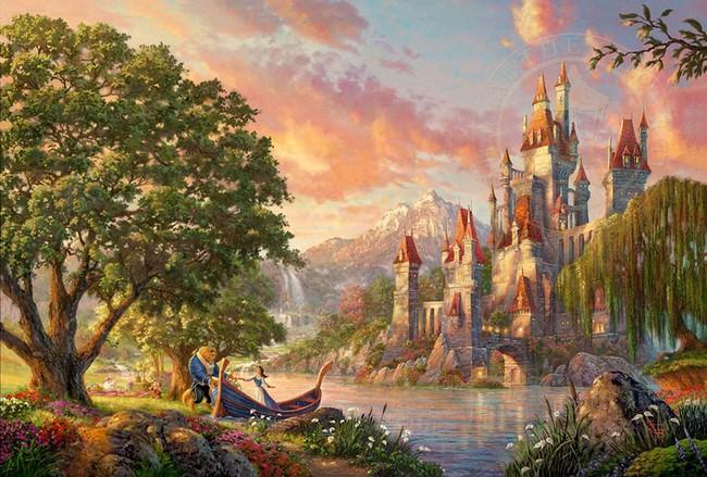 Không thể tin nồi còn có họa sĩ vẽ tranh Disney đẹp hơn cả bản gốc - Ảnh 7.