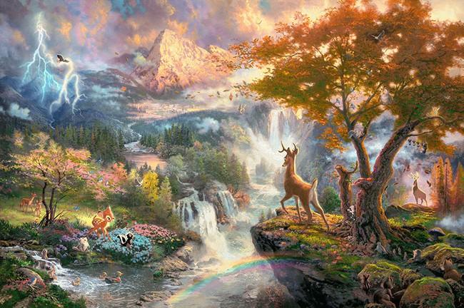 Không thể tin nồi còn có họa sĩ vẽ tranh Disney đẹp hơn cả bản gốc - Ảnh 6.