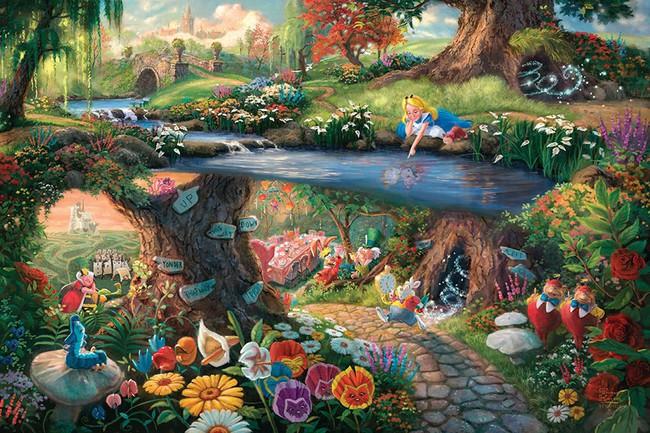 Không thể tin nồi còn có họa sĩ vẽ tranh Disney đẹp hơn cả bản gốc - Ảnh 3.