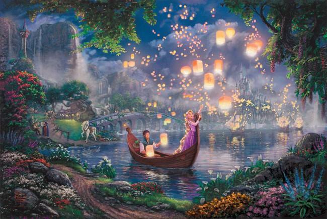 Không thể tin nồi còn có họa sĩ vẽ tranh Disney đẹp hơn cả bản gốc - Ảnh 1.