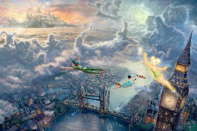Không thể tin nồi còn có họa sĩ vẽ tranh Disney đẹp hơn cả bản gốc - Ảnh 2.