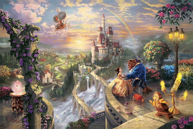 Không thể tin nồi còn có họa sĩ vẽ tranh Disney đẹp hơn cả bản gốc - Ảnh 11.