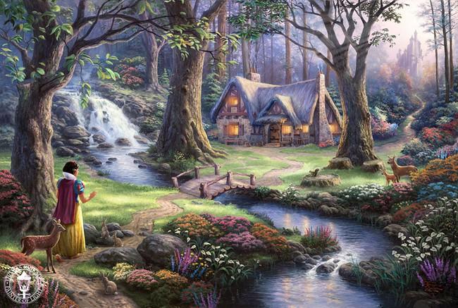 Không thể tin nồi còn có họa sĩ vẽ tranh Disney đẹp hơn cả bản gốc - Ảnh 10.