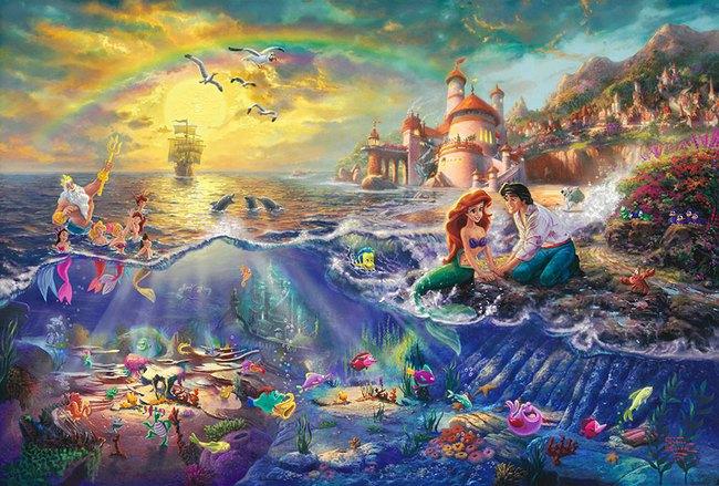 Không thể tin nồi còn có họa sĩ vẽ tranh Disney đẹp hơn cả bản gốc - Ảnh 8.