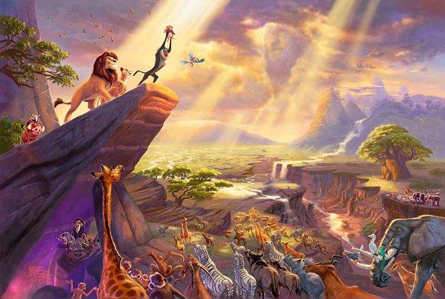 Không thể tin nồi còn có họa sĩ vẽ tranh Disney đẹp hơn cả bản gốc - Ảnh 5.