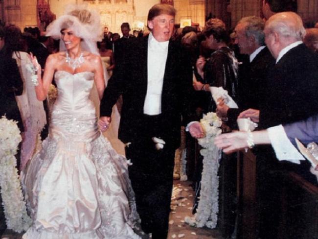 Chùm ảnh: Đám cưới xa hoa của tỷ phú Donald Trump cùng siêu mẫu Melania 11 năm trước - Ảnh 5.