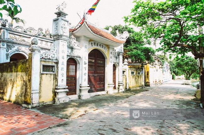 Ít ai biết ở gần Hà Nội có ngôi làng cổ hơn 200 năm tuổi, đẹp như tranh! - Ảnh 18.