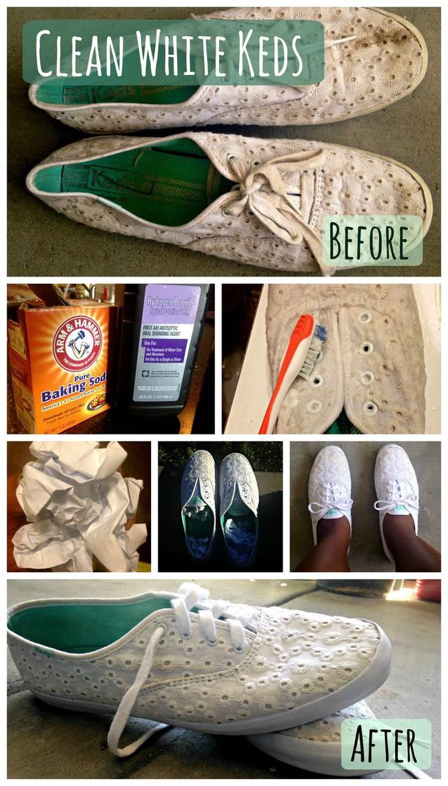 2 điều thần kỳ mà baking soda có thể làm với đôi giày của bạn - Ảnh 2.