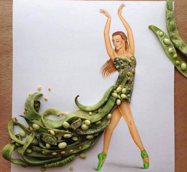 Bộ sưu tập thiết kế thời trang lấy cảm hứng từ đồ vật hàng ngày - Ảnh 10.