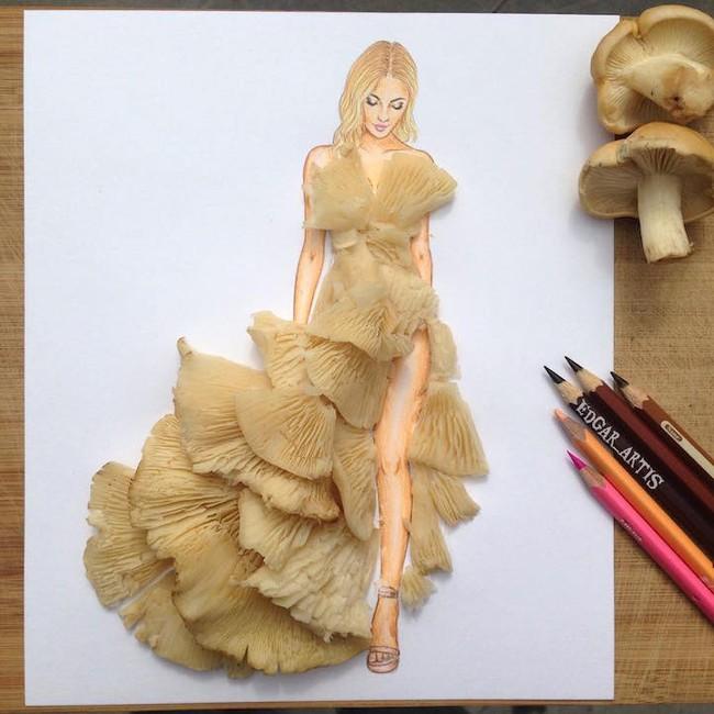 Bộ sưu tập thiết kế thời trang lấy cảm hứng từ đồ vật hàng ngày - Ảnh 7.