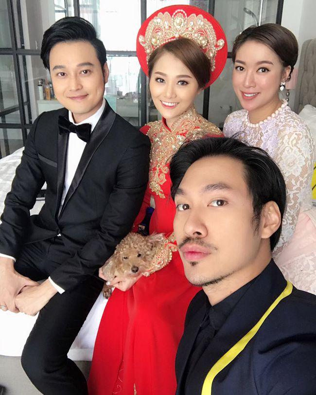 Quang Vinh vui mừng trong ngày cưới của cô em gái xinh đẹp như hoa - Ảnh 7.