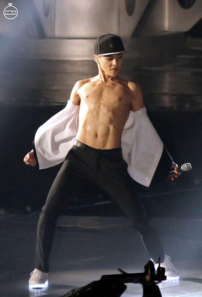 Những nghệ sĩ nam Hàn không thể ngừng phanh áo, khoe múi bụng săn chắc - ảnh 20