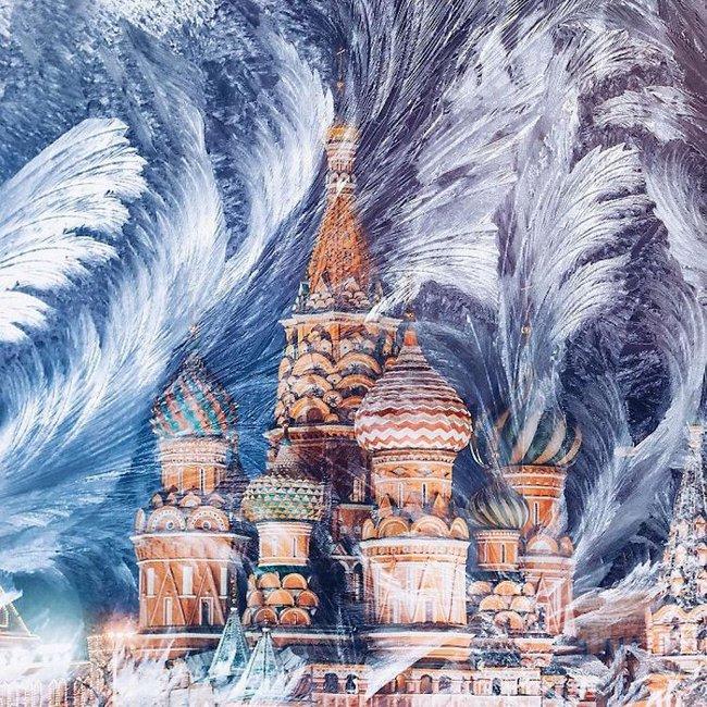 Ngỡ ngàng trước một Moscow mùa Giáng Sinh lung linh như truyện cổ tích - Ảnh 1.