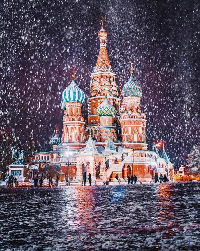 Ngỡ ngàng trước một Moscow mùa Giáng Sinh lung linh như truyện cổ tích - Ảnh 9.
