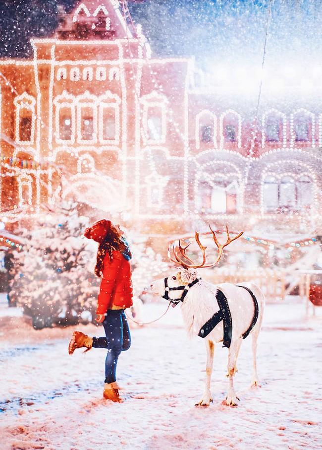 Ngỡ ngàng trước một Moscow mùa Giáng Sinh lung linh như truyện cổ tích - Ảnh 21.