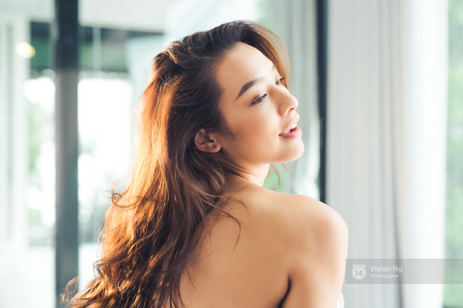 Cả con gái cũng mê mẩn khi xem những khoảnh khắc vô cùng gợi cảm của Lilly Nguyễn! - Ảnh 13.