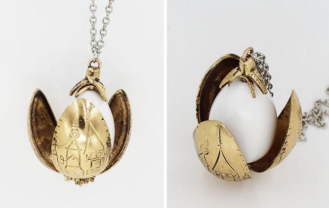 Bộ trang sức Harry Potter đưa bạn đến với thế giới phù thủy kỳ bí - Ảnh 2.
