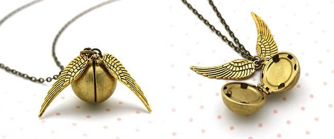 Bộ trang sức Harry Potter đưa bạn đến với thế giới phù thủy kỳ bí - Ảnh 6.