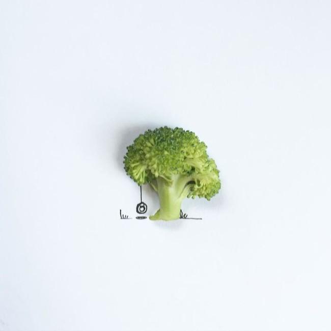Bộ tranh minh họa sáng tạo nên từ những 100 vật dụng giản dị nhất - Ảnh 1.