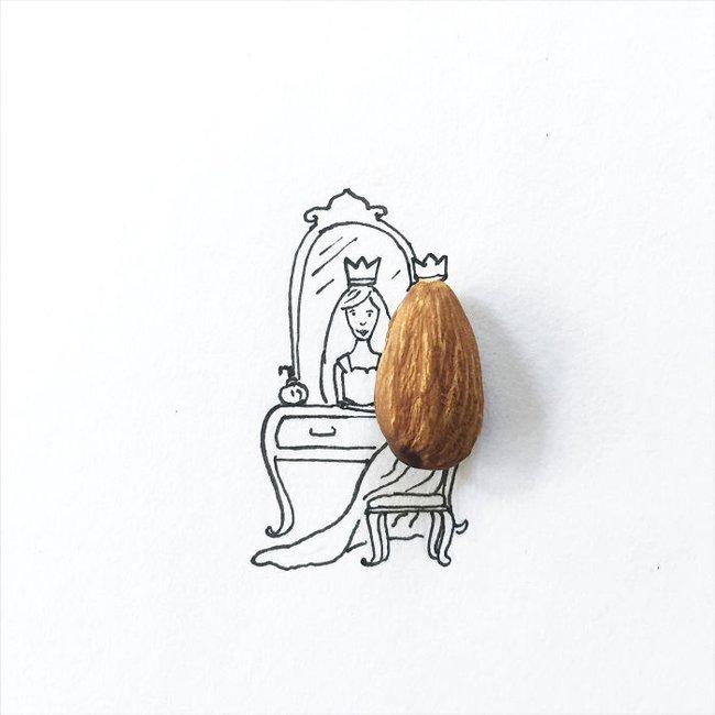 Bộ tranh minh họa sáng tạo nên từ những 100 vật dụng giản dị nhất - Ảnh 3.