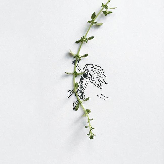 Bộ tranh minh họa sáng tạo nên từ những 100 vật dụng giản dị nhất - Ảnh 8.