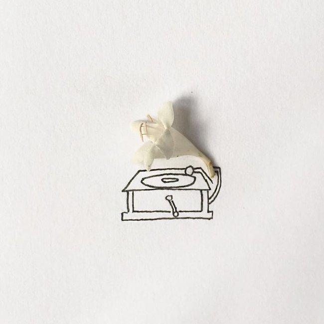 Bộ tranh minh họa sáng tạo nên từ những 100 vật dụng giản dị nhất - Ảnh 9.