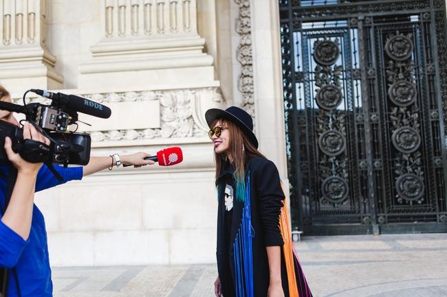 Ngưỡng mộ với cô gái Việt siêu chất, nổi bật ở tuần lễ thời trang Paris - Ảnh 6.