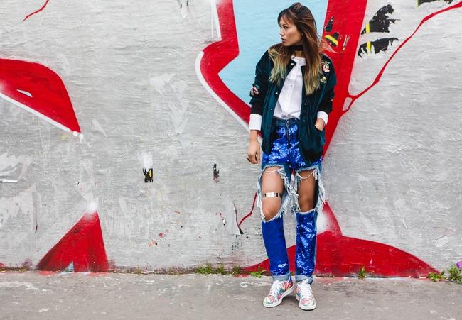 Ngưỡng mộ với cô gái Việt siêu chất, nổi bật ở tuần lễ thời trang Paris - Ảnh 14.