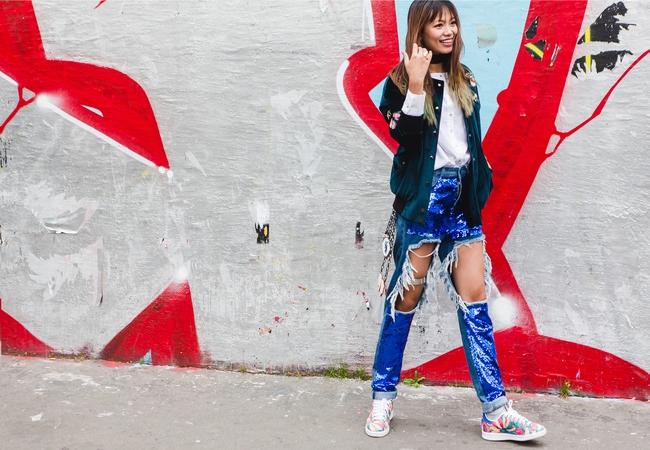 Ngưỡng mộ với cô gái Việt siêu chất, nổi bật ở tuần lễ thời trang Paris - Ảnh 15.