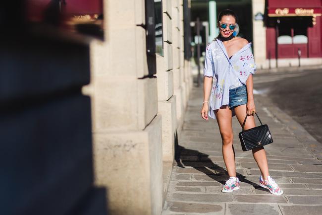 Ngưỡng mộ với cô gái Việt siêu chất, nổi bật ở tuần lễ thời trang Paris - Ảnh 17.