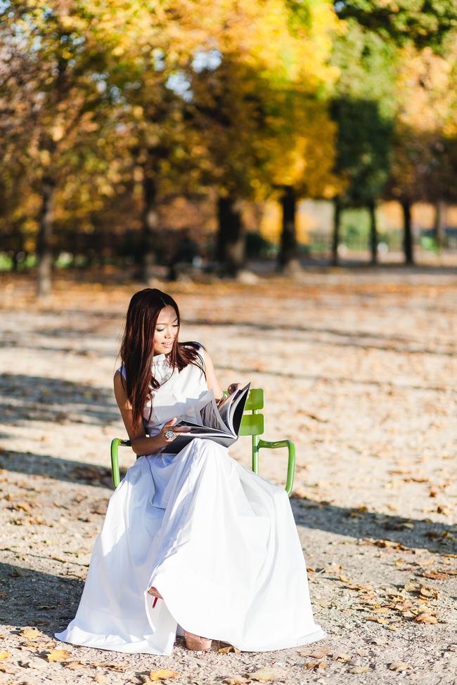 Ngưỡng mộ với cô gái Việt siêu chất, nổi bật ở tuần lễ thời trang Paris - Ảnh 19.