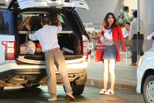 Ngọc Trinh xinh đẹp xuất hiện ở sân bay, sang Mỹ thăm người tình tỷ phú? - Ảnh 1.